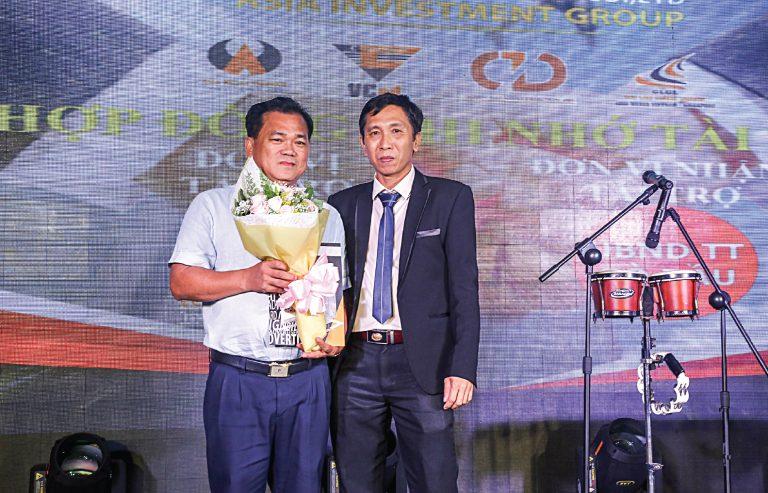 Lễ ký kết tài trợ huyện Gò Dầu