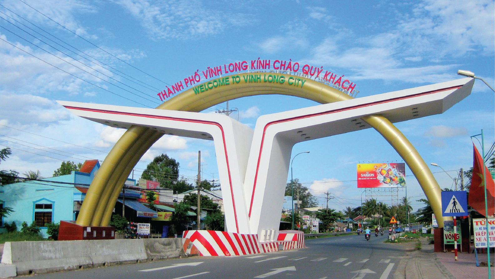 UBND TP. Vĩnh Long làm việc với Asia Investment Group